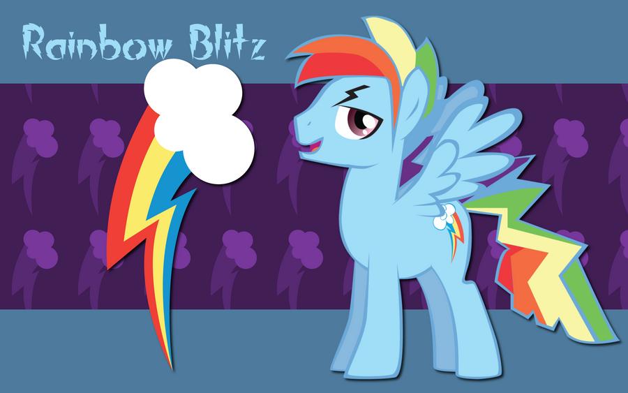 Rainbow blitz and rainbow dash human