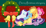 Nothing was Stirring not even a pony WP