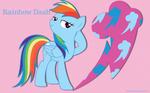 Cool Rainbow Dash WP