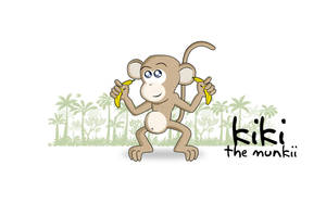kiki the Munkii by sohansurag