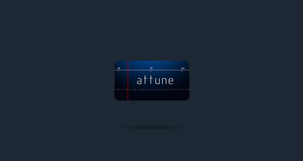 Attune logo - FOR SALE! by sohansurag