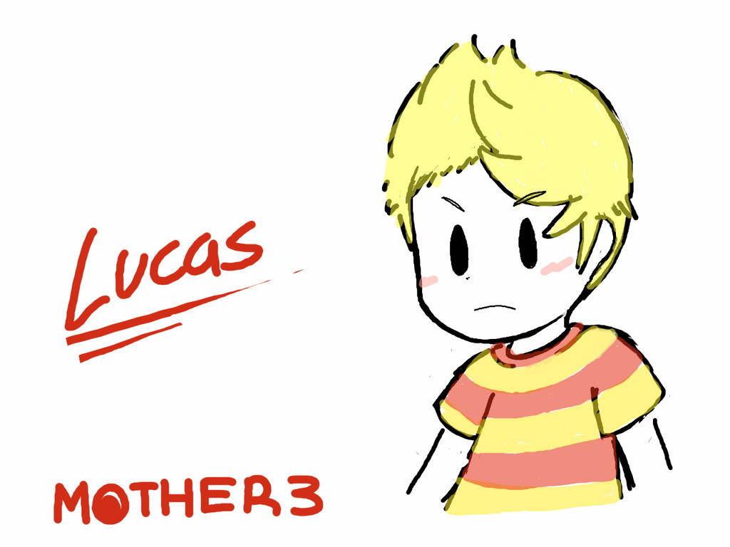 Group of Mother 3 Lucas