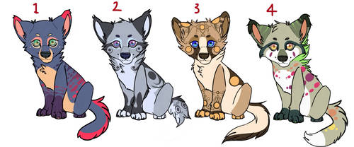 Wolf Pup adopts. Batch 1 by Ivylight