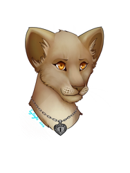 Lioness Headshot commision by Ivylight