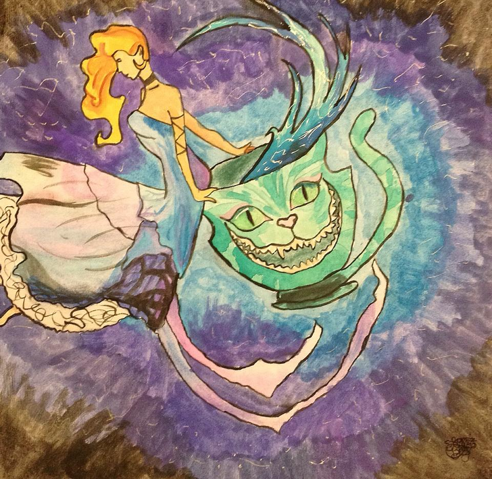 Alice In Wonderland Water: Alice In Wonderland Water Color By TheArielWhite On DeviantArt
