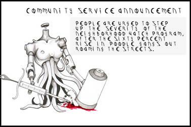 COMMUNITY ANNOUNCEMENT 2 by IndustrusDesign