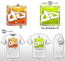 Men Art Work-T-Sshirt by edusimon