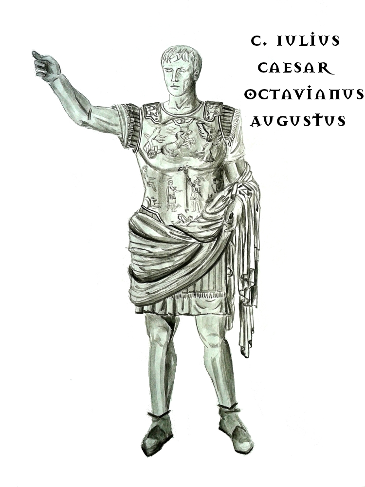 Octavianus Augustus by BeatrixBonnie