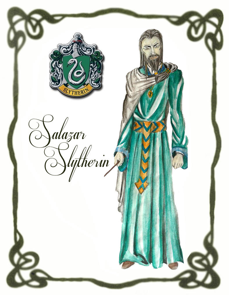 Salazar Slytherin by BeatrixBonnie