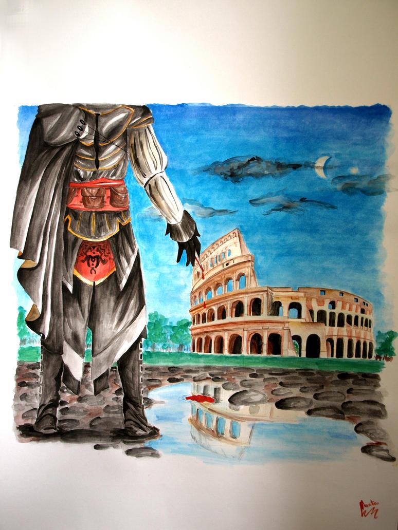 Vestigia Antiqua by BeatrixBonnie