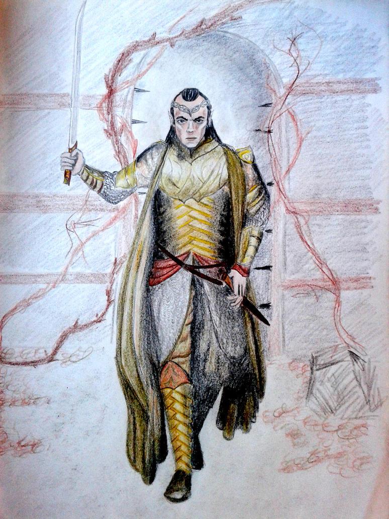 Elrond Half elven by BeatrixBonnie