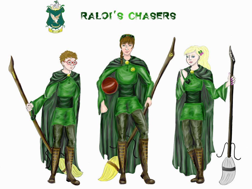 Quidditch Chasers by BeatrixBonnie