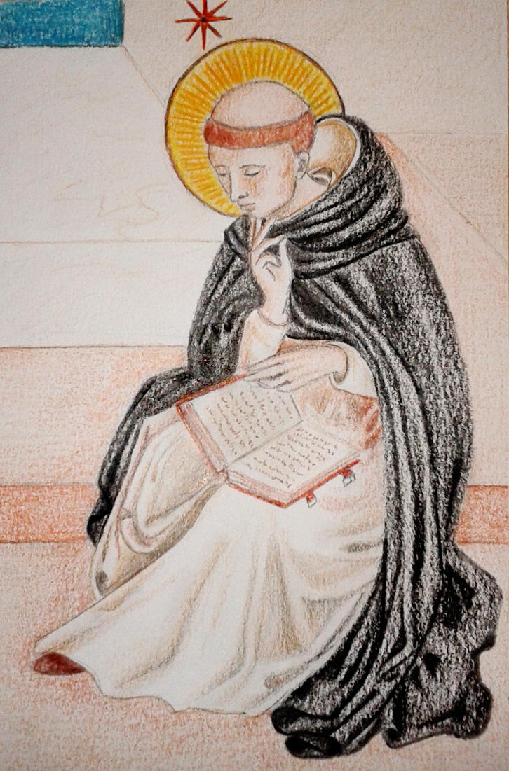 Saint Dominic by BeatrixBonnie