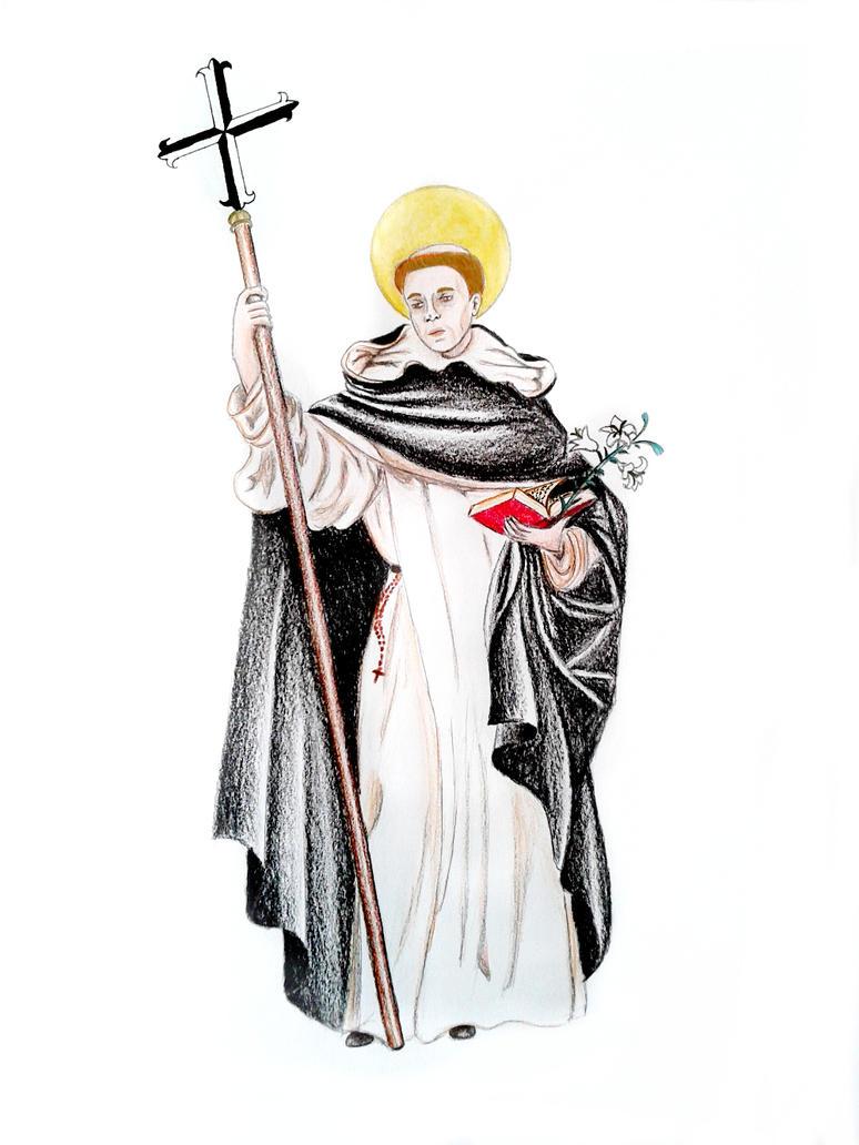 San Domenico di Guzman by BeatrixBonnie