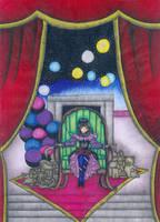 Small theater of darkness by chorny-kotenok