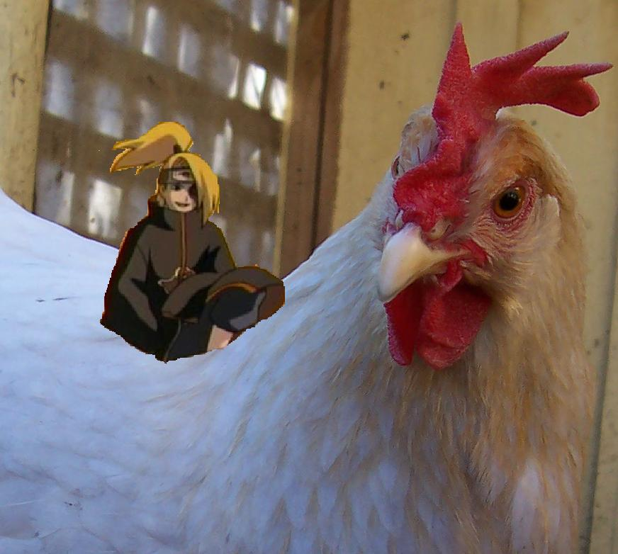 wrong bird deidara :O by SirLeaderPlushie