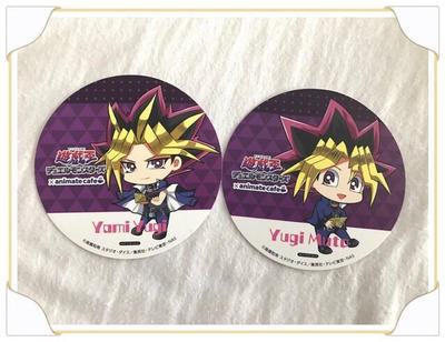 Atem and Yugi coasters by xXxPharaohxXx