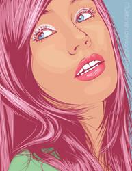 Sparkle pink by Muktinsh