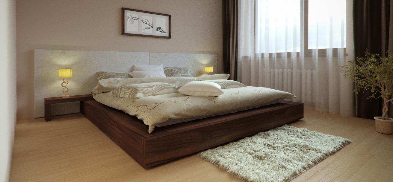 Bedroom by Muktinsh