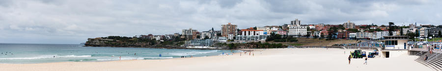 Bondi Beach Panorama II by misslucha