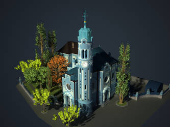 St. Elisabeth church by Phoboss88