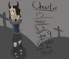 Charlie Creepypasta OC/normal OC (bottttthhhhhh) by XTacoLlama