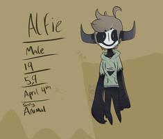 Alfie  Creepypasta OC/normal OC ( both i guess XD) by XTacoLlama