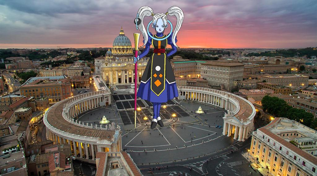 Marcarita The First Gigantic Goddess of Destructio by demonmanofdarkness