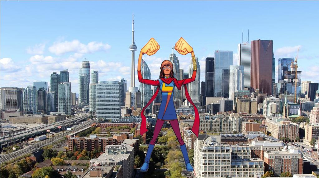 Attack of the 50ft Ms Marvel 2 by demonmanofdarkness