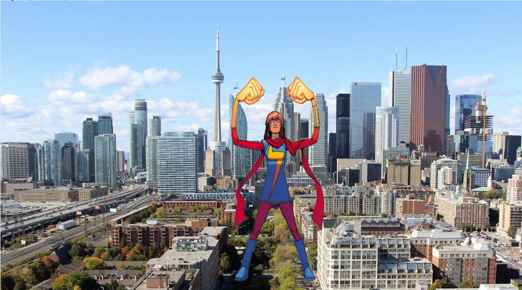 Attack of the 50ft Ms Marvel 3 by demonmanofdarkness