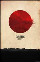 Japan disaster poster by Everlongdesign