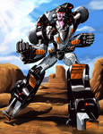 Crasher from Challenge of the Gobots