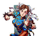 Chun Li, the strongest woman in the world.