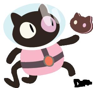 Cookie Cat! by SpaceRobotDena