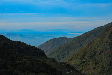 Throught the mountains