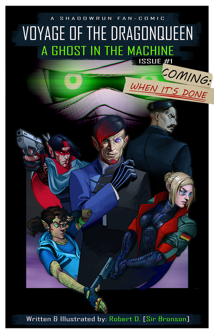 Voyage of the Dragonqueen #1 Cover by SirBronson