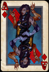 Ace of Diamonds by SirBronson
