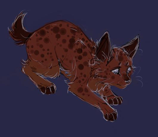 Spotty by leijar