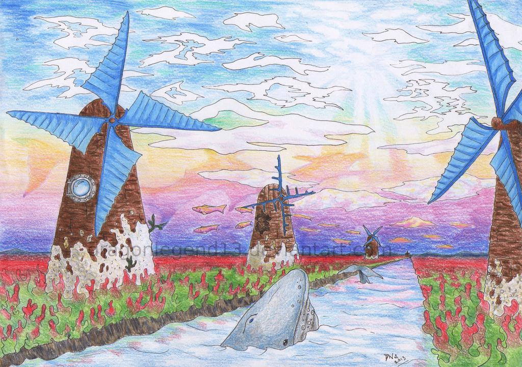 Windmills by DragonLegend13