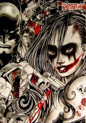 Gotham's Insanity by SophieScarlet
