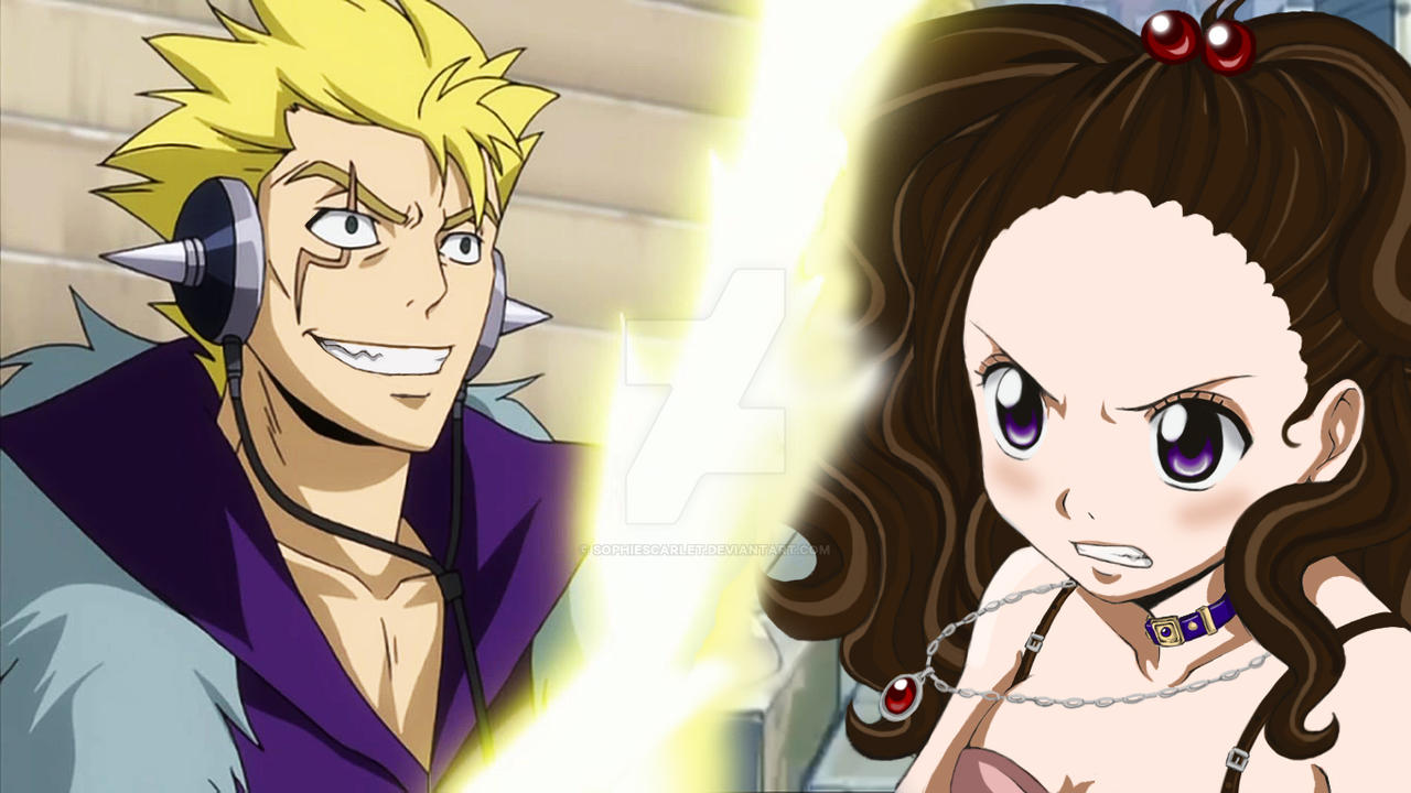 Laxus vs Lilabelle by SophieScarlet