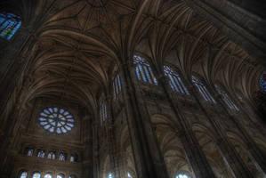 Inside St. Eustache by Shluh