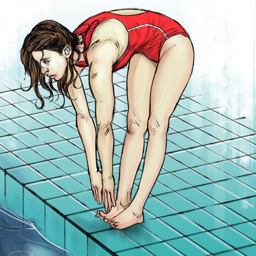 Let's Swim by Weirdesigner
