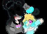 [G'sU] Secret friend...?.. yeah... Secret Friend.. by LittleGalaxyGirl