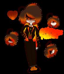 [REVERSE-AU] Flame Medder by LittleGalaxyGirl