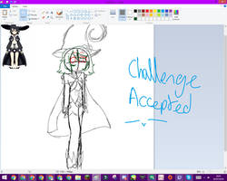 [COMMISSION-WIP] Challenge Accepted owo