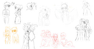 a fuck ton of davejade sketches by SMELLS-LIKE-MILK