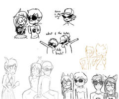 homestuck sketches by SMELLS-LIKE-MILK