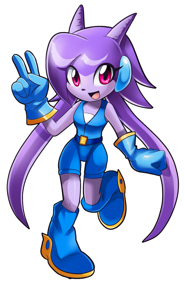 Lilac the Dragon Girl by SpacemanStrife