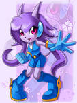 Lilac the Dragon Girl - Ready For Action